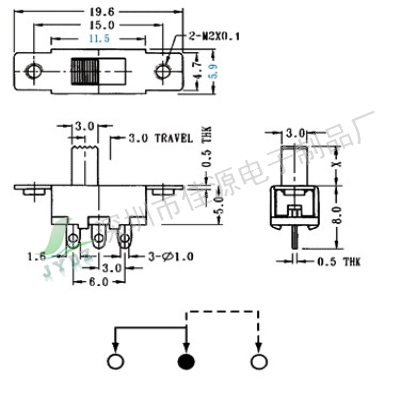 SS12F16(1P2T)