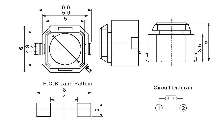 按键防水结构图