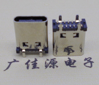 1type c型接口14p引脚端贴片l=10.0mm直立式母座图片